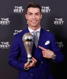 克里斯蒂亚诺·罗纳尔多,国际足联2016年最佳球员